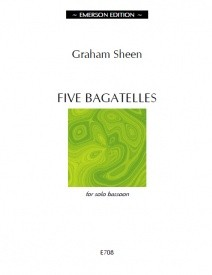 5 Bagatelles by Sheen for Bassoon published by Emerson