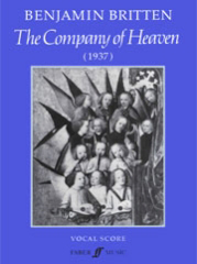 Britten: The Company Of Heaven published by Faber - Vocal Score