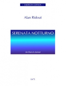Ridout: Serenata Notturno for Flute & Clarinet published by Emerson