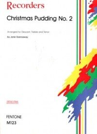 Christmas Pudding No 2 for Recorder Ensemble published by Mimram