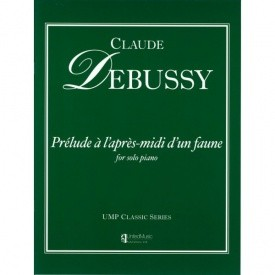 Debussy: Prelude a l'apres-midi d'un faune for Piano published by UMP