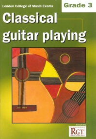 Registry of Guitar Tutors - Classical Guitar Playing - Grade 3