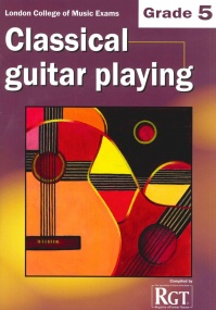 Registry of Guitar Tutors - Classical Guitar Playing - Grade 5