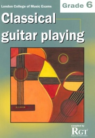 Registry of Guitar Tutors - Classical Guitar Playing - Grade 6