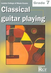Registry of Guitar Tutors - Classical Guitar Playing - Grade 7