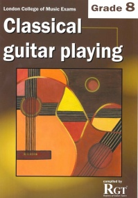 Registry of Guitar Tutors - Classical Guitar Playing - Grade 8