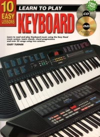 10 Easy Lessons for Keyboard Book/CD/DVD published by Koala