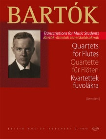 Bartok: Quartets for Flutes published by EMB