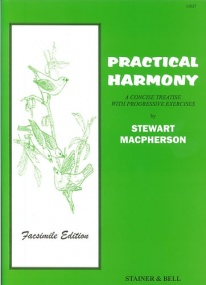 Macpherson: Practical Harmony published by Stainer & Bell