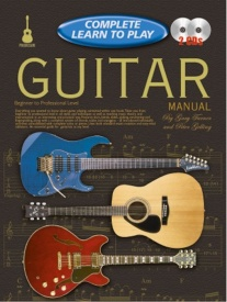 Complete Learn To Play Guitar Manual Book & CD published by Koala