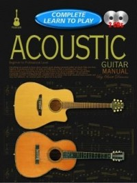 Complete Learn To Play Acoustic Guitar Manual Book & CD published by Koala
