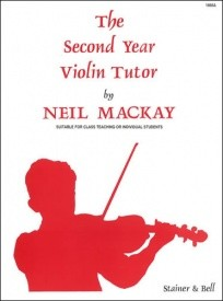Mackay: The Second Year Violin Tutor published by Stainer & Bell