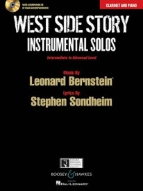 West Side Story Instrumental Solos for Clarinet in Bb published by Boosey & Hawkes