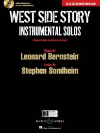 West Side Story Instrumental Solos for Alto Saxophone published by Boosey & Hawkes