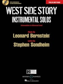West Side Story Instrumental Solos for Violin published by Boosey & Hawkes