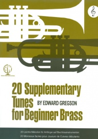 Gregson: 20 Supplementary Tunes for Beginner Brass (Treble Clef) published by Brasswind