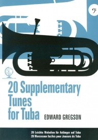 Gregson: 20 Supplementary Tunes for Tuba published by Brasswind