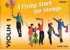 A Flying Start for Strings - Volume 1 for Violin published by Flying Start