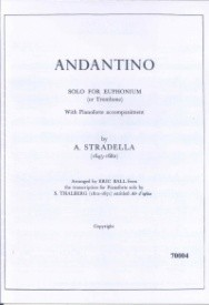 Andantino for Euphonium by Stradella published by G & M