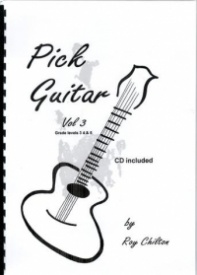 Pick Guitar Volume 3 Book & CD by Chilton