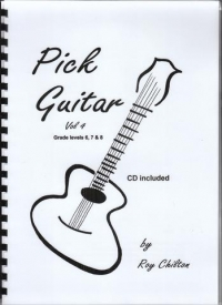 Pick Guitar Volume 4 Book & CD by Chilton