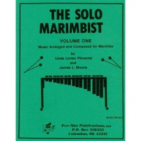 The Solo Marimbist 1 published by Per-Mus