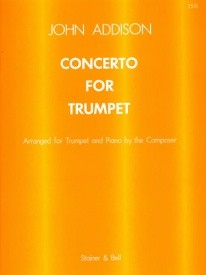 Addison Concerto for Trumpet published by Stainer and Bell