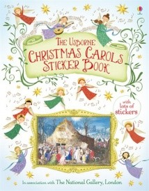 Usborne Christmas Carols Sticker Book
