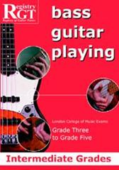 Registry of Guitar Tutors - Bass Guitar Playing Intermediate Grades 3-5