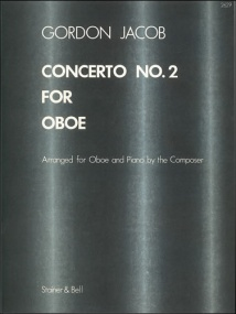 Jacob: Concerto No 2 for Oboe published by Stainer & Bell
