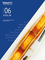 Trinity Violin Exam Pieces - Grade 6 (2020-2023) (Score & Part)
