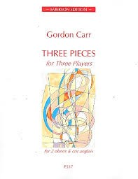 Carr: Three Pieces for Three Players published by Emerson