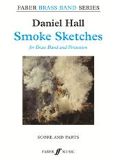 Hall: Smoke Sketches for Brass Band - Score & Parts published by Faber