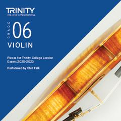 Trinity Violin Exam Pieces (2020-2023) Grade 6 CD Only