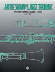 Artie Shaw's Jazz Technic 2 - 14 Etudes for Clarinet published by Alfred