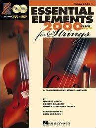 Essential Elements 2000 Book, CD & DVD for Viola published by Hal Leonard