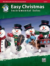 Easy Christmas Instrumental Solos, Level 1 Book & CD for Viola published by Alfred