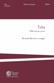 Barrett: Tuba TTBB published by Walton