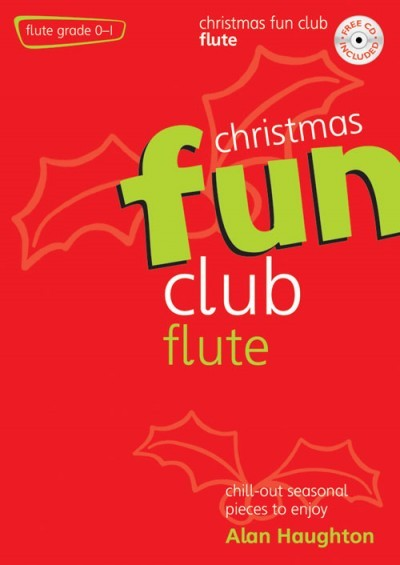 Christmas Fun Club Book & CD for Flute published by Kevin Mayhew