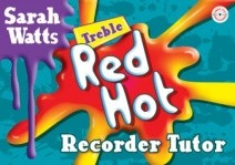 Red Hot Treble Recorder Tutor Pupil Book & CD published by Mayhew