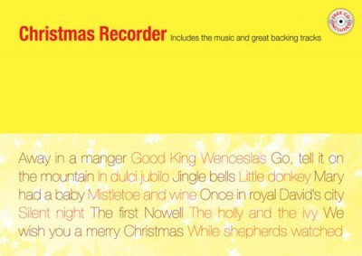 Christmas Recorder Book & CD published by Mayhew