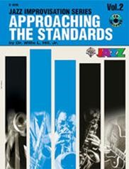 Approaching the Standards Volume 2 in Bb Book & CD published by Warner