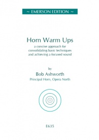 Ashworth: Horn Warm Ups published by Emerson