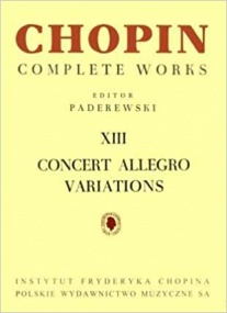 Chopin: Allegro de Concert for Piano published by PWM