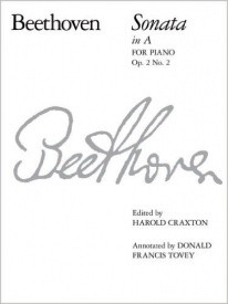 Beethoven: Sonata in A Opus 2 No 2 for Piano published by ABRSM