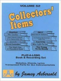 Aebersold 52 Collectors Items Book & CD for All Instruments