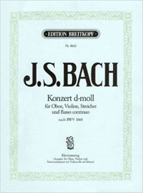 Bach: Double Concerto D minor BWV 1060 published by Breitkopf
