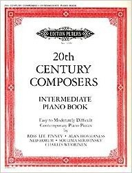 20th Century Composers Intermediate Piano Pieces published by Peters