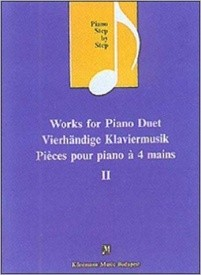 Piano Step by Step : Works for Piano Duet 2 published by Konemann