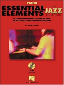 Essential Elements Jazz Ensemble Book & CD for Piano published by Hal Leonard
